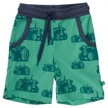 Leichte Jersey Shorts Traktoren grün
