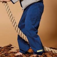 Robuste Herbsthose leicht gefüttert schmutzabweisend marine