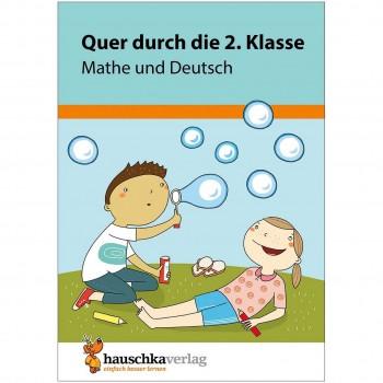 Quer durch die 2. Klasse Mathe & Deutsch Übungsblock