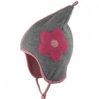 Wolle Baumwolle Zipfelmütze atmungsaktiv rosa