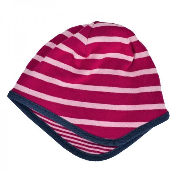 Wendemütze für Kleinkinder mit 2 Designs - pink