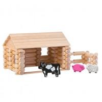 Farm 56-tlg. - Baukasten System - freies Bauen & konstruiere