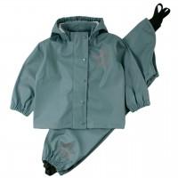 Regenbekleidung Set ungefüttert in grüngrau