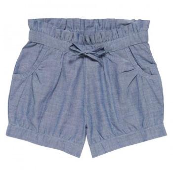 Leichte Mädchen Shorts jeansblau