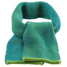 Schal Wolle ab 2 - 12 Jahre grün