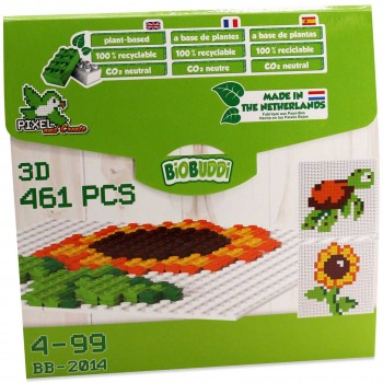 Pixel & Create Blume und Schildkröte 4-99 Jahre