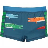 Badehose für Jungen - Krokodil navy