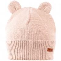 Öhrchen Strickmütze Wolle Kaschmir in rosa