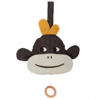 Spieluhr Affe – Brahms Wiegenlied