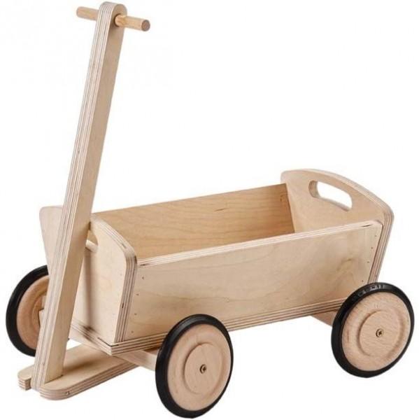 Waldorf Holz Wagen für die Puppen - Leiterwagen