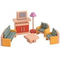 Zubehör Neo fürs Puppenhaus - Wohnzimmer