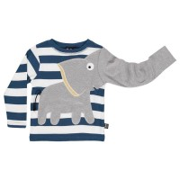 Cooles Elefanten Shirt - langarm