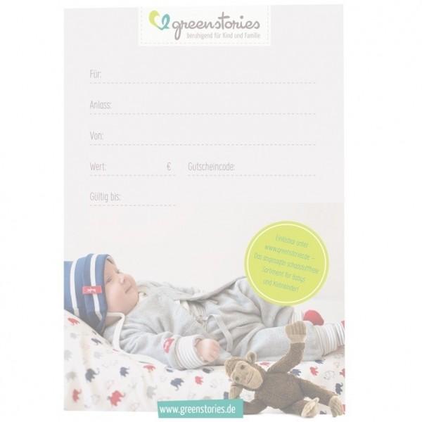 Email - Geschenkgutschein - via email - Junge