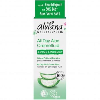 Naturkosmetik All Day Aloe Cremefluid (50ml)