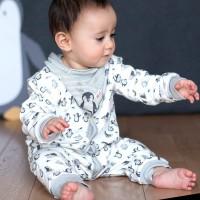 Bio Baby Strampler ohne Fuss