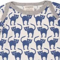 Vorschau: Body für kleine und große Schmusekatzen - pastellblau