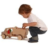 Grundmodell lang mit Kippmulde - creamobil