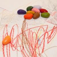 Vorschau: Malsteine Malkreide im Baumwollsack 32 Stück