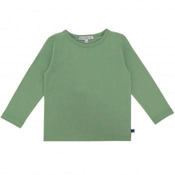 Uni Langarmshirt salbei-grün