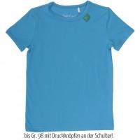 Vorschau: Anpassungsfähiges T-Shirt oder als Unterhemd - blau