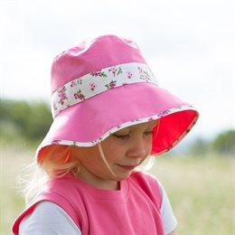 Kleiner Sommerhut für Mädchen - hübsch & nostalgisch