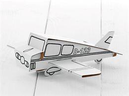 """Flugzeug zum Stecken, malen & spielen """"Stufe einfach"""""""