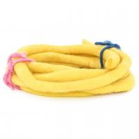 Filzband 1,5 cm dick, 3 m lang - sonnengelb