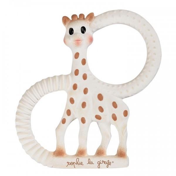 Öko Babyspielzeug Sophie la girafe ab 7 Monate - weich