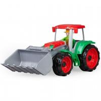 Grüner Traktor - Führerhaus zum Öffnen & Bespielen