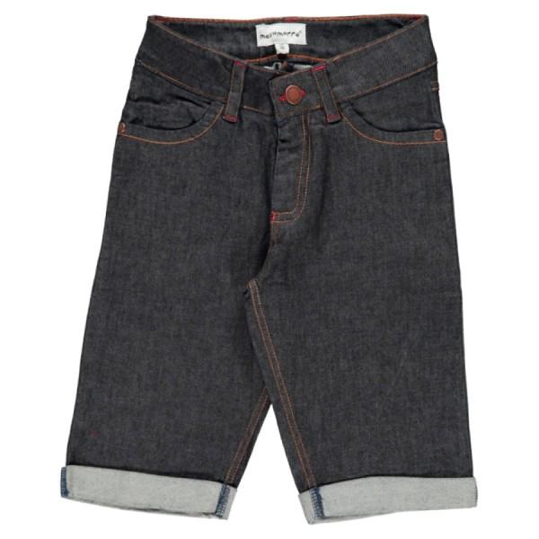 Elastische Jeans Shorts knielang guter Leibsitz für Jungen