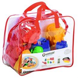 Burgen Set 8tlg. Schnee- & Sandspielzeug mit Tasche