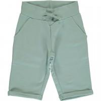 Hellblaue Sweat Shorts knielang