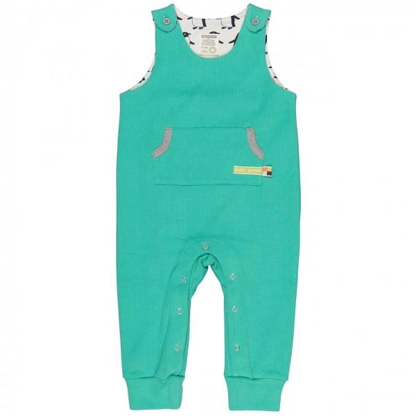 Babystrampler ohne Arm in grün