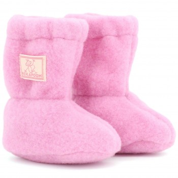 Woll Stiefel Baby rosa