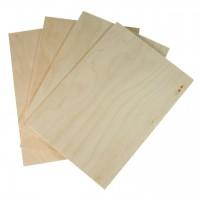 Birkensperrholz Set zum Basteln und Sägen