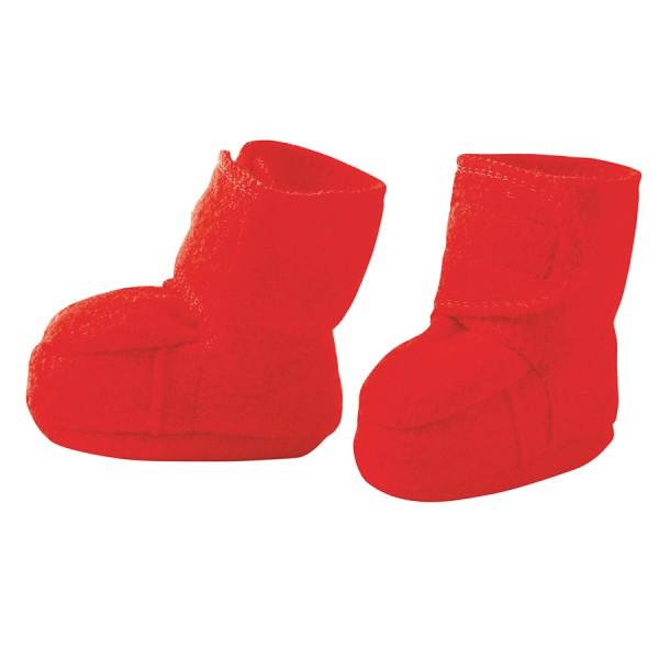 Warme Babyschuhe Klettverschluss Stoppern rot
