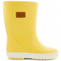 Weiche Regenstiefel mit Profil gelb