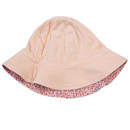 Wendemütze Fischerhut doppellagig robust rosa