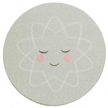 Polsterkissen Spielmatte z.B. für Tipi 90 cm - grau