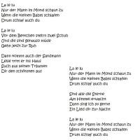 lalelu lied
