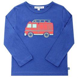 Feuerwehr Auto Langarmshirt leicht und robust