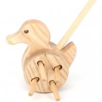 Schiebestab Ente – Holz Schiebetier ab 12 Monaten