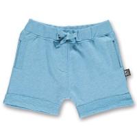 robuste Sweathose als Shorts unisex blau