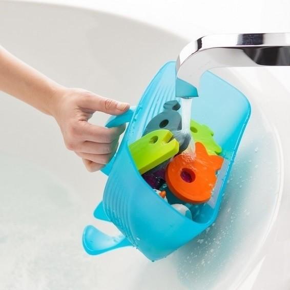 Badespielzeugbox Wal genial, einfach & hygienisch