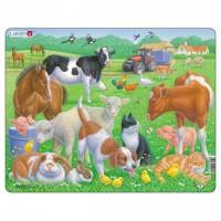 Kinder Puzzle ab 2 Jahre Bauernhof