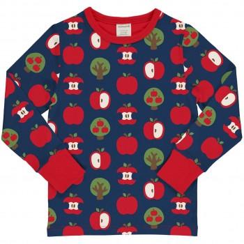 Äpfel Shirt langarm marine
