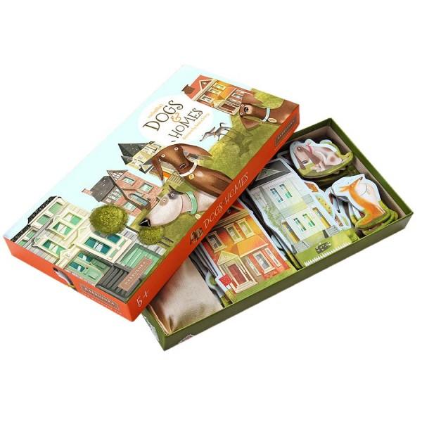 Brettspiel Dogs & Homes für schlaue Detektive (5-99 Jahre)