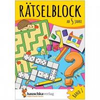 Rätselblock – Rätselspaß für Kinder ab 5 Jahre Bd 1