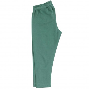 Lange uni Leggings in petrol
