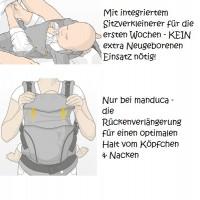 Vorschau: Black Line - Tragehilfe ab Geburt + Size-IT GRATIS!